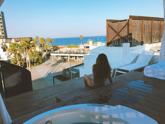 Hard Rock Hotel Ibiza | Solarium View